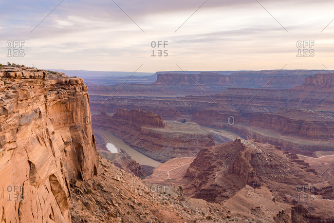 The Colorado River in Dead Horse Point State Park, Utah