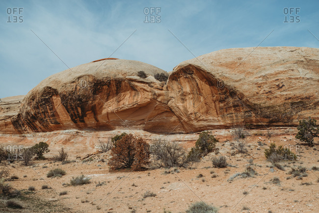 Rock formations in Canyonlands National Park, Utah