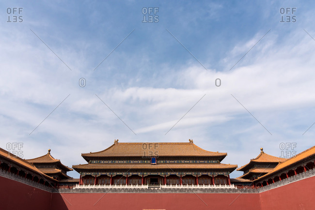 Forbidden City, UNESCO World Heritage Site, Beijing, China