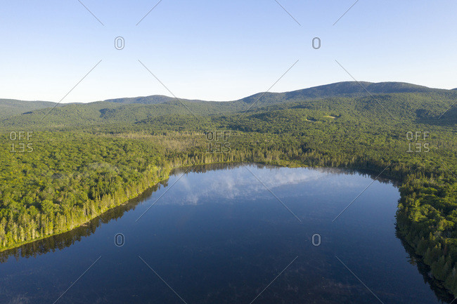 Lewis Pond in the Silvio O Conte National Fish & Wildlife Refuge, Nulhegan Division, Vermont