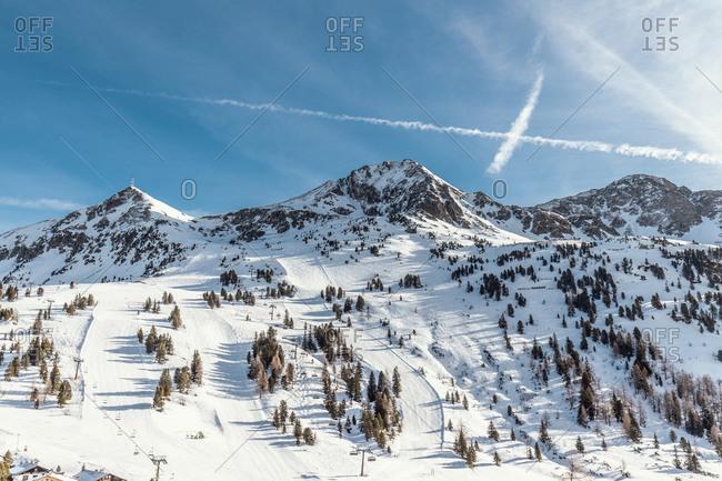 Obertauern winter sports area- Salzburg country- Austria