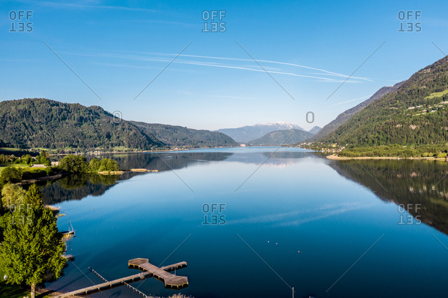 Austria- Carinthia- Oissach lake