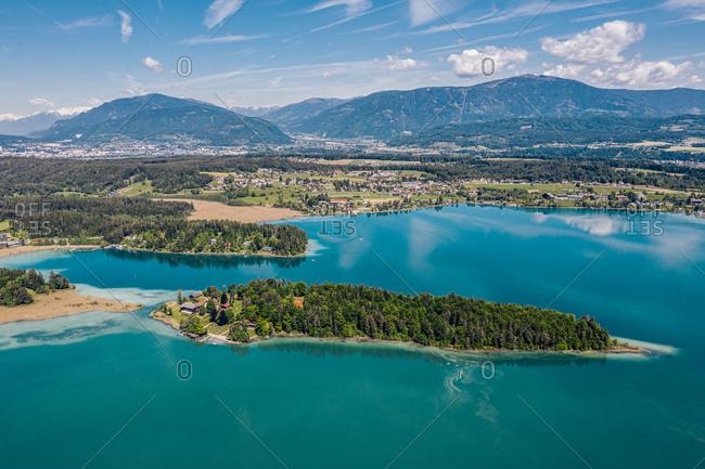 Austria- Carinthia- Faakersee Island