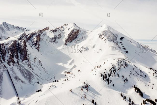 Austria- Carinthia- Salzburg Country- Obertauern in winter