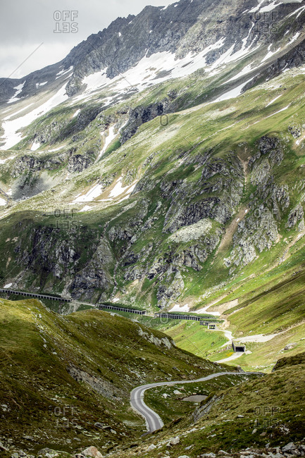 Austria- Carinthia- Inner fragrant- Road to Molltal Glacier