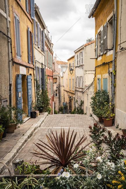 Frace- Cote daze- Marseille- lanes in Le Panier