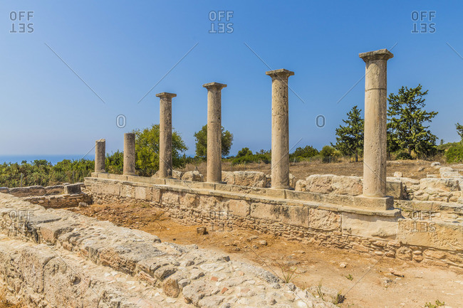The Sanctuary of Apollo Hylates, Kourion, Limassol, Cyprus