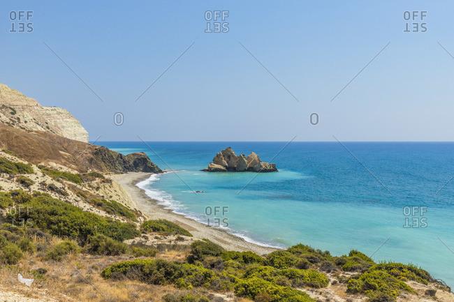 Saracen Rock, paphos, Cyprus