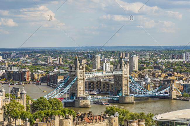 May 21, 2019: Tower Bridge, London, England, UK