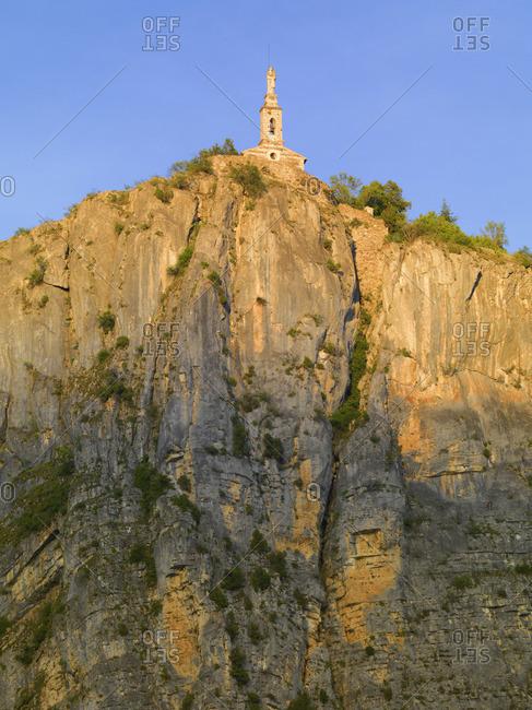 France, Provence, Alpes Cote d'Azur, Castellane, Notra dame du Roc