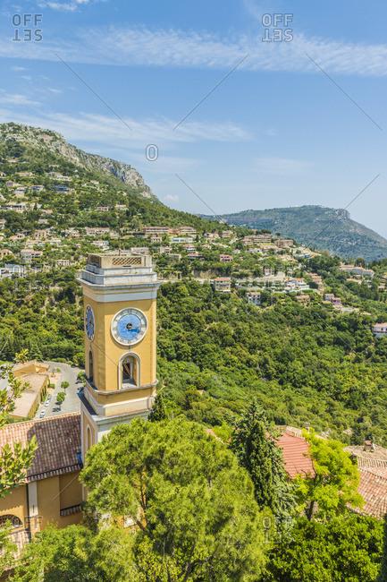 The Church Notre Dame de l'Assumption ,Eze, Alpes-Maritimes, Provence-Alpes-Cote D'Azur, French Riviera, France