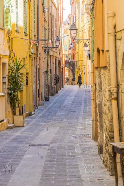 Menton, Alpes-Maritimes, Provence-Alpes-Cote D'Azur, French Riviera, France
