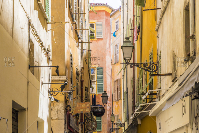 June 12, 2019: Nice, Alpes-Maritimes, Provence-Alpes-Cote D'Azur, French Riviera, France