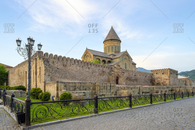 Svetitskhoveli Cathedral, Mtskheta, Mtskheta-Mtianeti, Georgia.