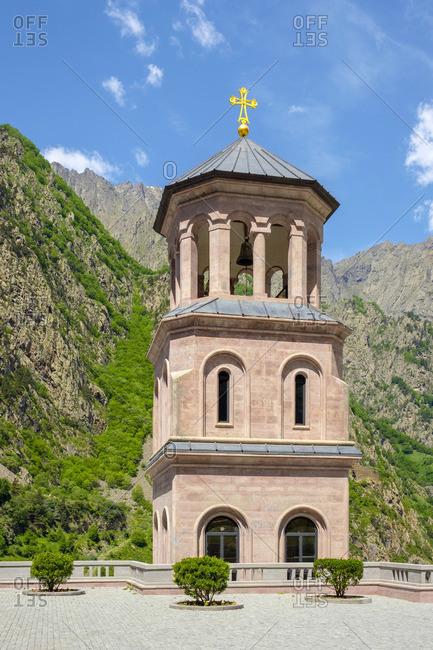 Dariali Monastery, Stepantsminda, Mtskheta-Mtianeti, Georgia.