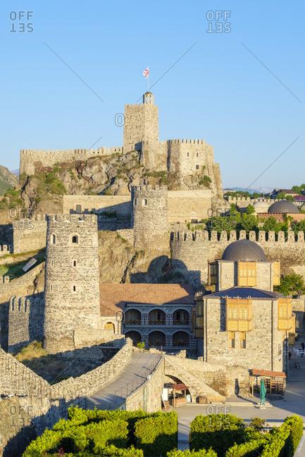 May 29, 2019: Rabati Castle, Akhaltsikhe, Samtskhe-Javakheti region, Georgia.