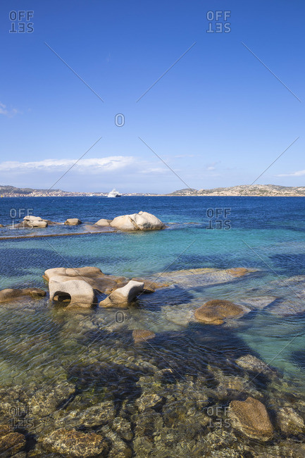 Italy, Sardinia, Sassari Province, Palau, Porto Farro beach