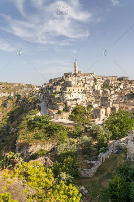 Sasso Barisano, Sassi di Matera, Basilicata, Italy. Unesco World Heritage site