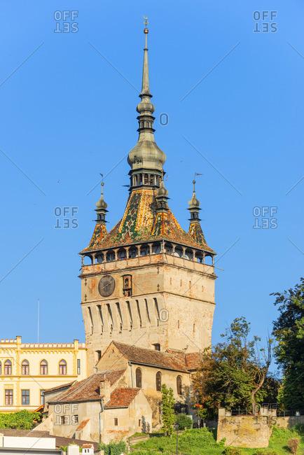 The Clock Tower, Unesco World Heritage Site, Sighisoara, Transylvania, Romania