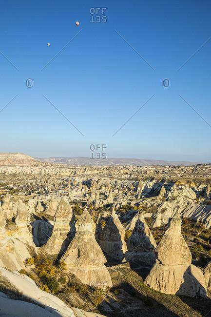 November 9, 2019: Goreme, Cappadocia, Nevsehir Province, Central Anatolia, Turkey