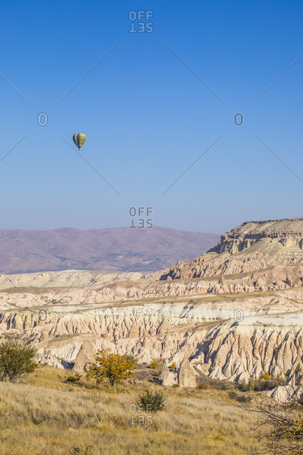 November 10, 2019: Cappadocia, Nevsehir Province, Central Anatolia, Turkey