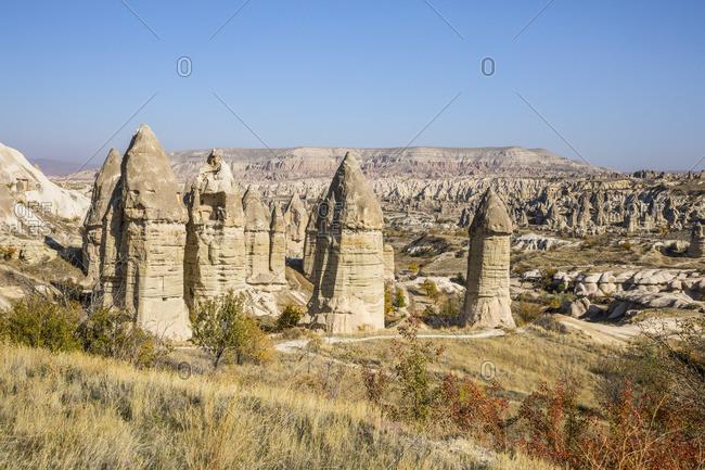 Cappadocia, Nevsehir Province, Central Anatolia, Turkey