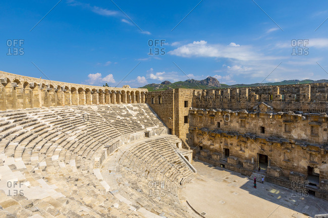 Aspendos Amphitheatre, Antalya, Turkey