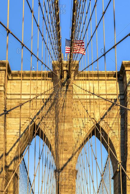 Brooklyn Bridge, Brooklyn, New York, USA