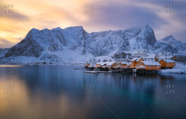 Lofoten colors popping out right after the snow storm