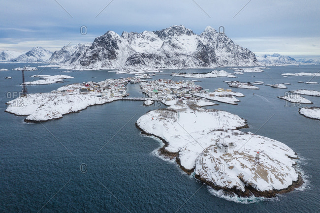 Lofoten's beautiful yet harsh winter
