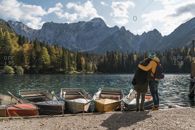 Couple at Laghi di Fusine- Friuli Venezia Giulia- Italy