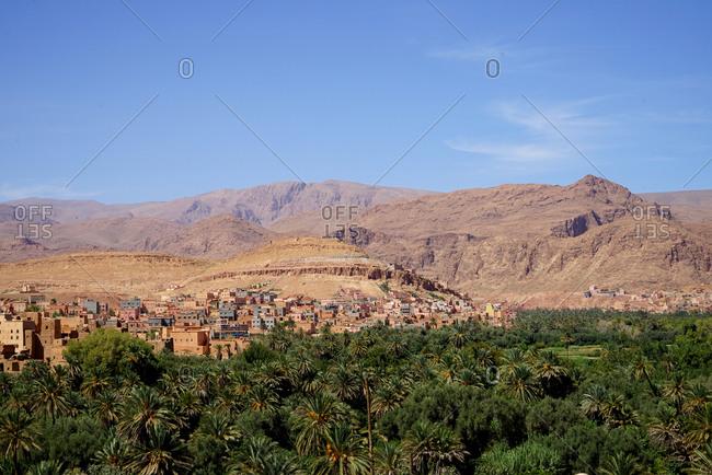 Landscape of morocco Africa zatlers