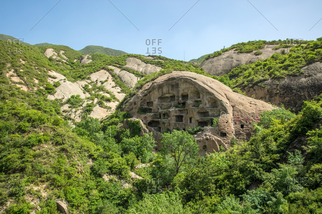 May 22, 2018: Beijing yanqing caves in the countryside