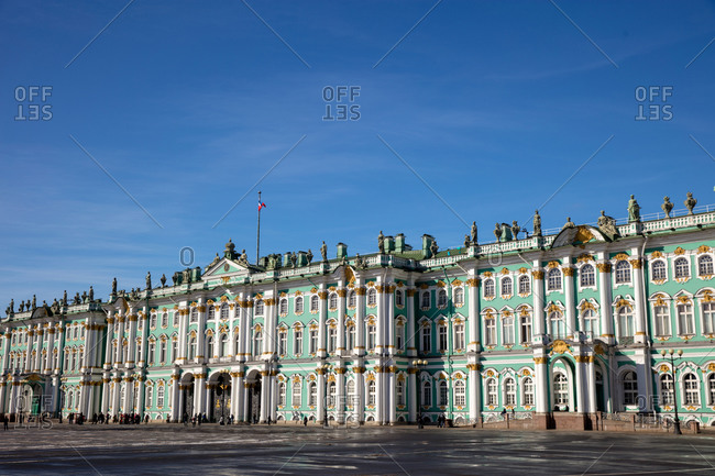 March 18, 2018: Russia's St. Petersburg winter palace
