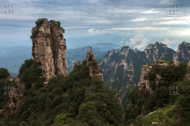 Laiyuan county, Hebei province Baishi mountain