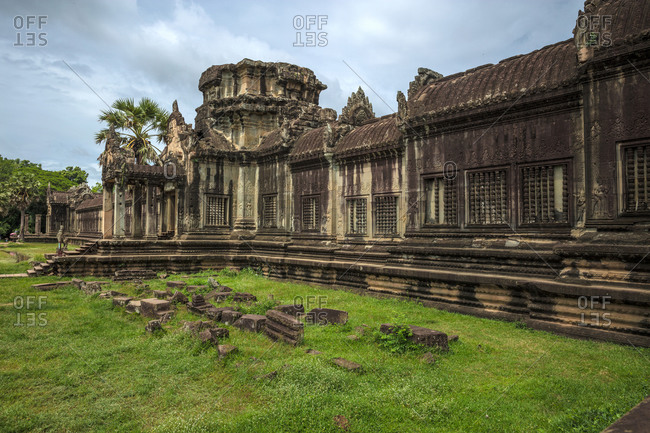 Buddhist temple Angkor wat in Cambodia