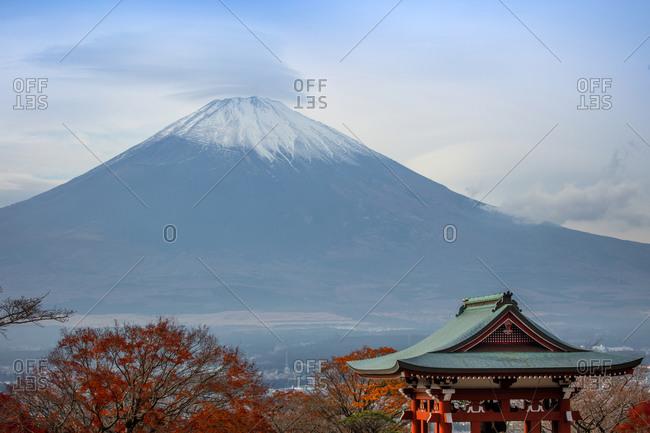 Japan's Mount Fuji Hakone Peace Park