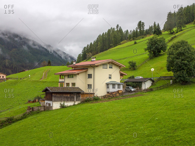 The small town under the Swiss Alps