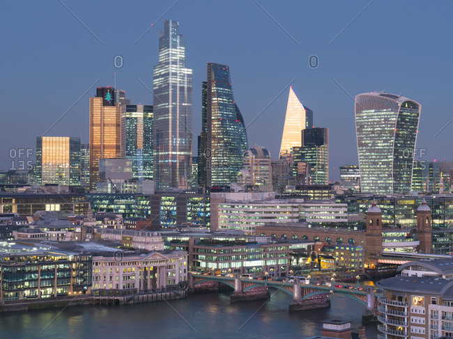 December 4, 2019: City of London, Square Mile, image shows completed 22 Bishopsgate tower, London, England, United Kingdom, Europe