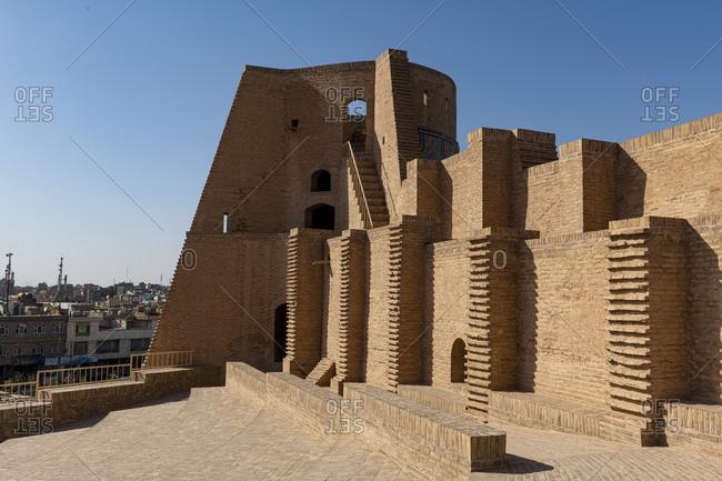 October 20, 2019: The Citadel of Herat, Herat, Afghanistan, Asia