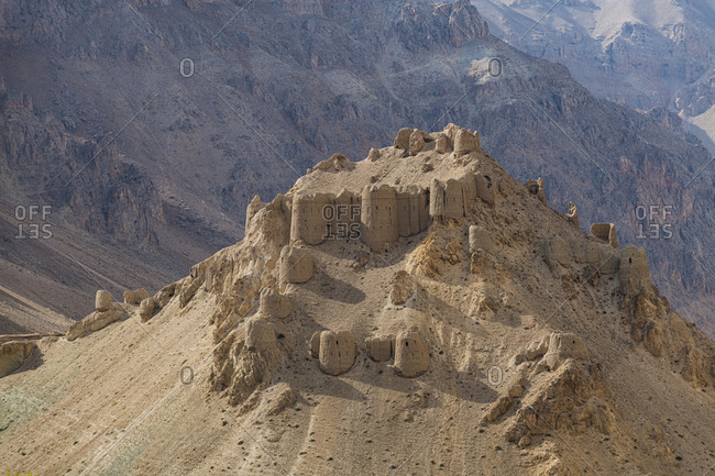 Chehel Burj (Forty Towers fortress), Yakawlang province, Bamyan, Afghanistan, Asia