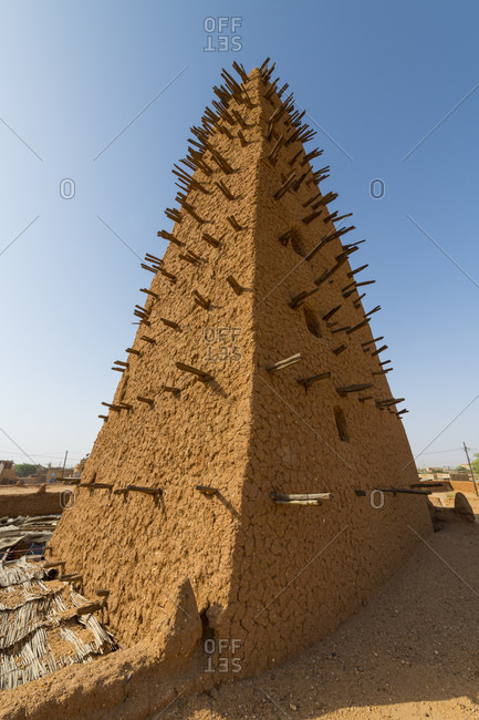 Grand Mosque, UNESCO World Heritage Site, Agadez, Niger, West Africa, Africa