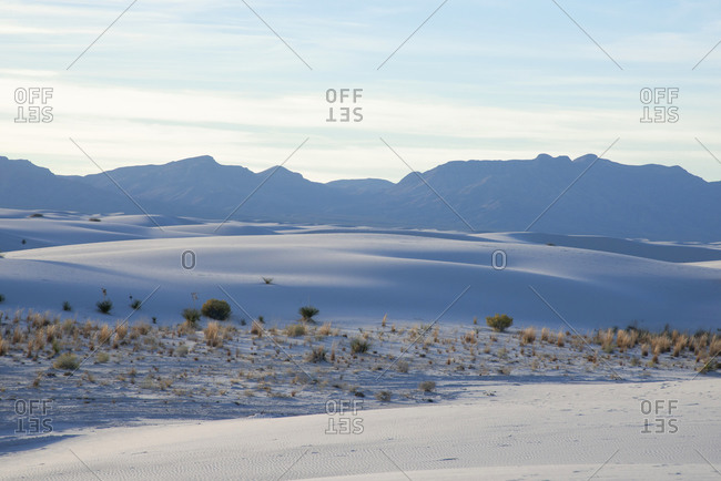 White Sands National Park near Alamogordo, New Mexico