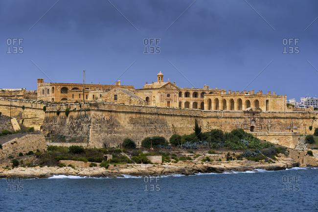 Malta- Gzira- Manoel Island- Fort Manoel- 18th century fortification built by the Order of Saint John