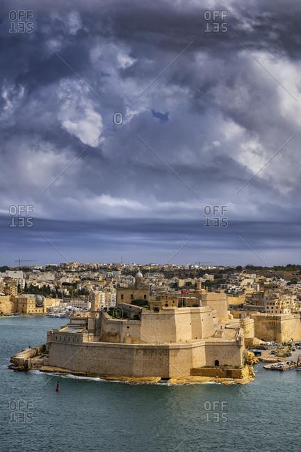 Malta- Birgu- Fort St. Angelo and Grand Harbor