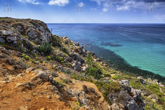Malta- Coastline and sea