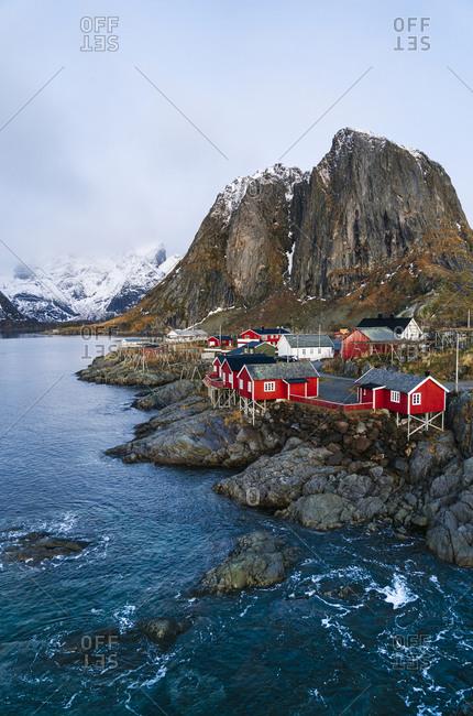 Townscape of Hamnoy- Lofoten- Norway