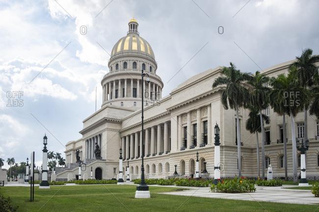 December 20, 2019: Cuba- Havana- Exterior of National Capitol Building