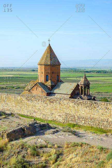 Khor Virap monastery, Ararat Province, Armenia