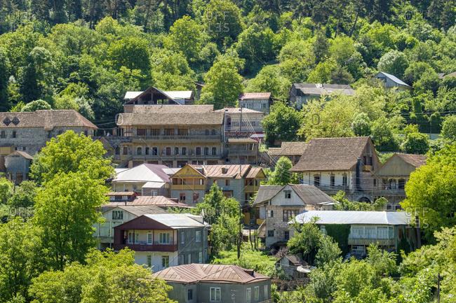 Houses in Dilijan, Tavush Province, Armenia